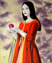 La princesse à la pomme.