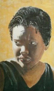 Portrait femme Mauricienne 2007.