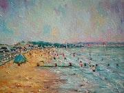 Dymchurch beach, Kent.. F Aouni