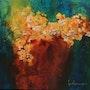 Tableau de Luce lamoureux - L'arôme du printemps - Acrylique sur toile. Art'et Miss