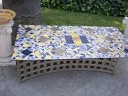 Picnic table. Joy Helm Riley