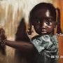 Petite fille africaine. Christine Dupuy