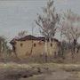 Ein Dorf in Moldawien, gerahmt. Axel Zwiener
