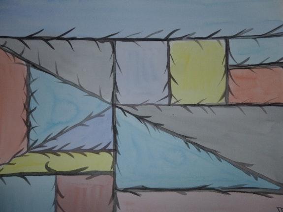 Inspiration Mondrian. Db Db
