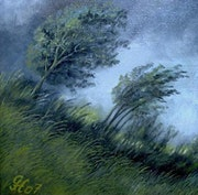 Gewittersturm.