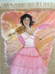 La violoniste.