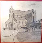 Eglise à St. Sauveur. Jamart