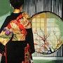 Geisha a la fenetre. Clotilde Nadel