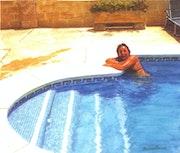 Refrescandose en julio. Manuel Buendia