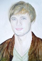 Bradley James acteur anglais.