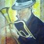 L'homme au saxo. Vernois Isabelle