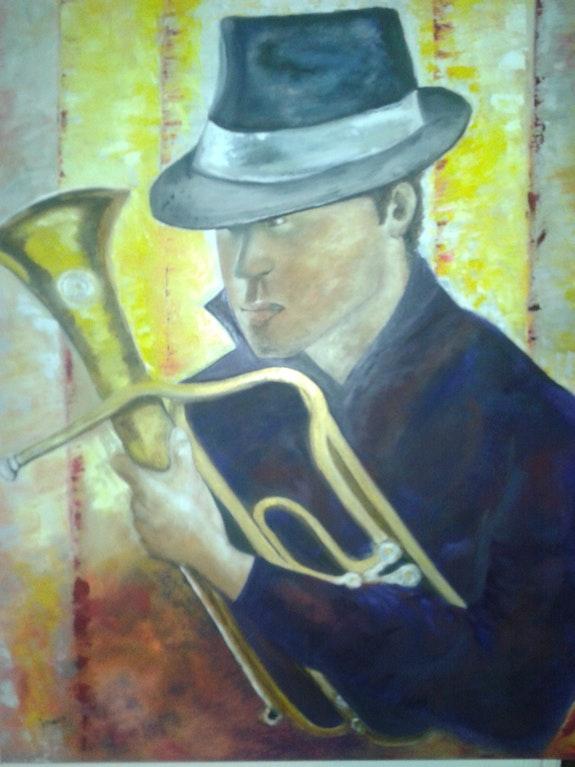 L'homme au saxo. Vernois Vernois Isabelle