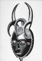 Masque aux 5 cornes. Jean-Marie Goma