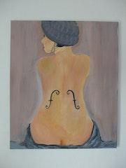 La femme au violon.