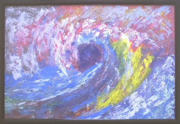 La vague de la couleur. Salhi Djillali (Djino) S_Djillali