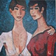 Les deux soeurs.