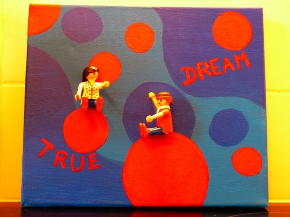 True dreams. Christine Jost Play-Art Christine Childs