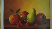 Nature morte :Quelques fruits.