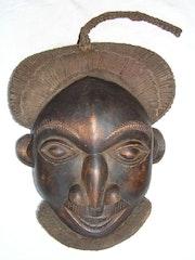 Masque d'afrique. Noubiste