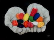 Generosidad con dulces colores IV.