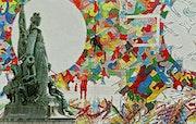 Statue de La Défense: Située dans le quartier d'affaires du même nom à Paris. Gérard Pichet