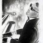 Ray 02 série jazz. Jean Claude Ciutad-Savary. Artiste Peintre