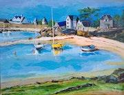 Petit port breton.