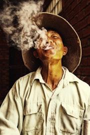 Le fumeur. Magaflor