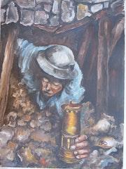 La vie dans la mine.