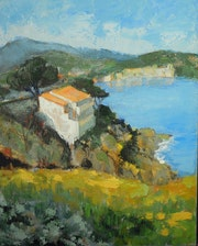 Collioure, sur la route de Port-Vendres,.