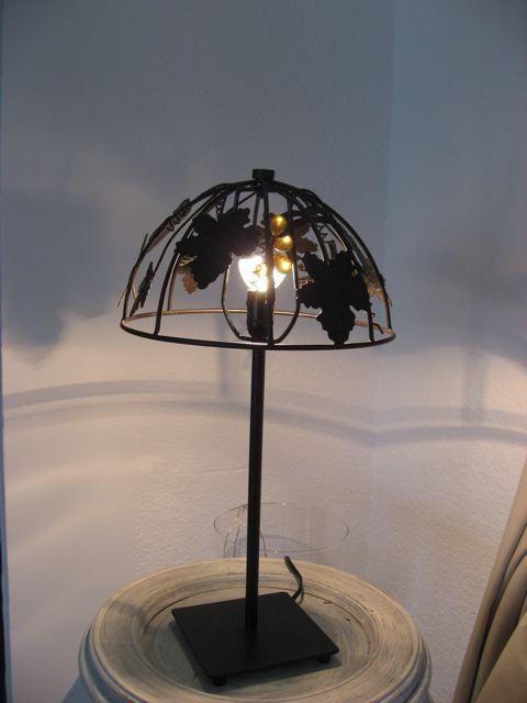 Lampe «vigneronne». Henri Merentier Henrim