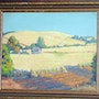 1940'S California Impressionist Oil Painting: Summer Fields. The William Frederick Brooks Collections