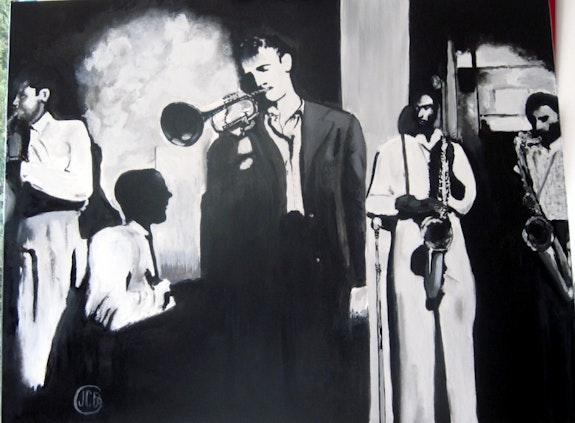 Jazz groupe C. B.. Jean Claude Ciutad-Savary Jean Claude Ciutad-Savary. Artiste Peintre