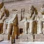 Temple d'Abu-Simbel-Haute Egypte. Gérard Pichet