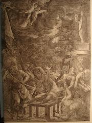 Martyre de saint Laurent, d'après Le Titien, 1571.. Historien d'art, Archéologue; Chercheur Free-L.