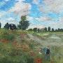 Les coquelicots de Monet. Marie-Anne De Wever