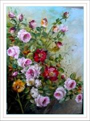 Buisson de roses.