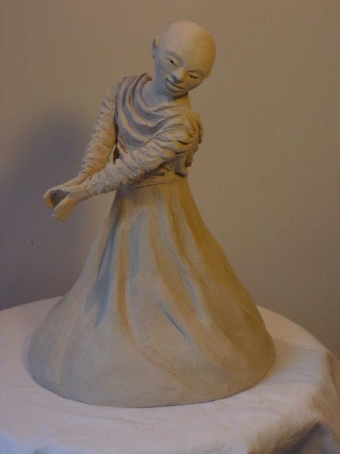Danse Buto. Annie Bidal Annie B.
