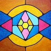 Abstrait geometrique n° 13.