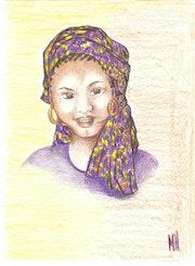 Portrait de femme 1. Mariraff