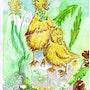 Kleine Enten, Little Ducks, patitos,. Birgit Schlegel