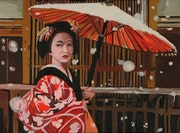 L ombrelle rouge.
