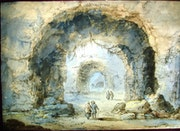 Hubert Robert, Ruines.. Historien d'art, Archéologue; Chercheur Free-L.