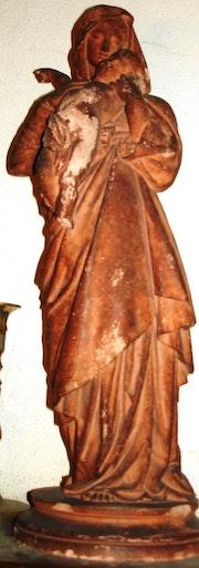 Vierge à l'Enfant de G. Doré. Historien d'art, Archéologue; Chercheur Free-L.