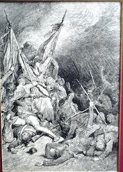 La République victorieuse de Gustave Doré. Historien d'art, Archéologue; Chercheur Free-L.