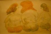 Bild 531: Drei Damen im Gespräch.