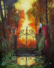 Le portail d apres Ferdinand Knab. James