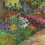 Jardin 1 / gouache. Mariraff