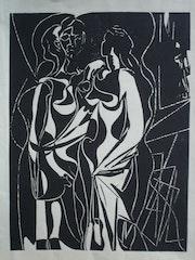 Hélène chez Archimède, par Picasso. Historien d'art, Archéologue; Chercheur Free-L.