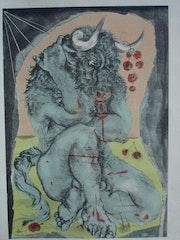 Minotaure, par Picasso. Historien d'art, Archéologue; Chercheur Free-L.